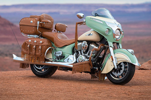 Indian Roadmaster Classic - erster Test Indian Roadmaster Classic 2017