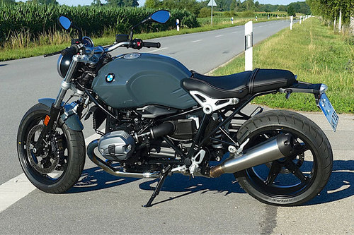 bmw r ninet pure im test motorrad tests motorrad. Black Bedroom Furniture Sets. Home Design Ideas