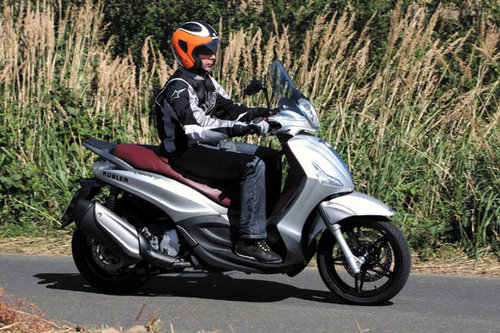 Piaggio Beverly 350 Sport Touring - Test