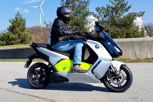 BMW C evolution - Elektro-Scooter im Test BMW C evolution 2018