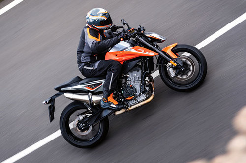 "KTM 790 Duke - ""The Scalpel"" im Test KTM 790 Duke 2018"