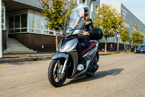 Kymco New People S 125i ABS - im Test