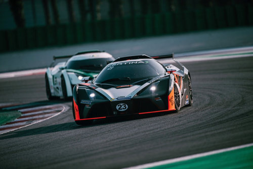 KTM X-Bow Battle: Misano