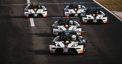 KTM X-Bow Battle: Hungaroring