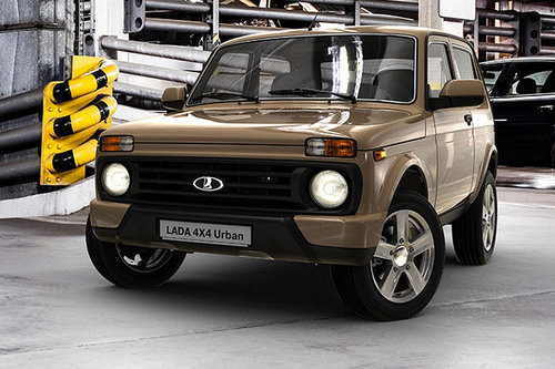 facelift lada taiga niva 4x4 urban news offroad. Black Bedroom Furniture Sets. Home Design Ideas
