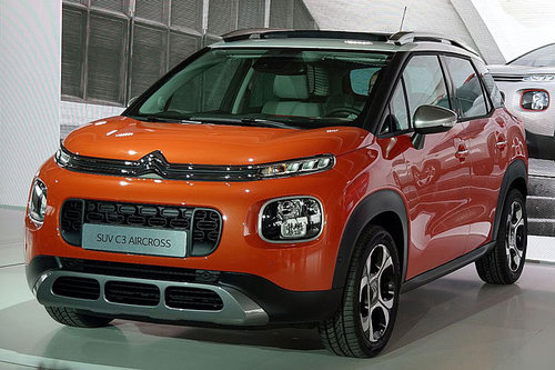 weltpremiere citroen c3 aircross news offroad. Black Bedroom Furniture Sets. Home Design Ideas