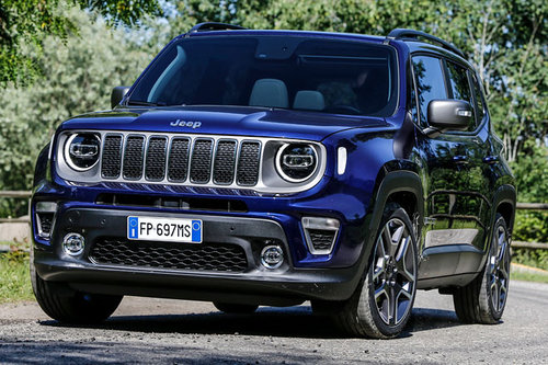 Jeep Renegade: 2020 als Plug-in-Hybrid