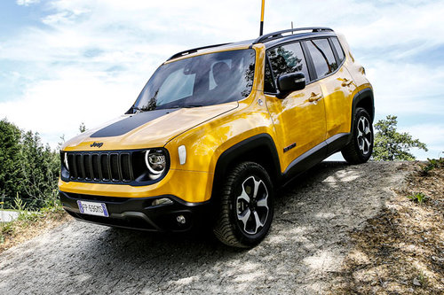 Jeep Renegade: Facelift bestellbar
