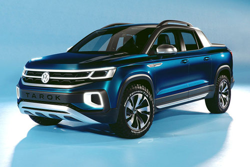 VW Tarok: Pick-up mit variabler Ladefläche VW Tarok Pick-up 2018