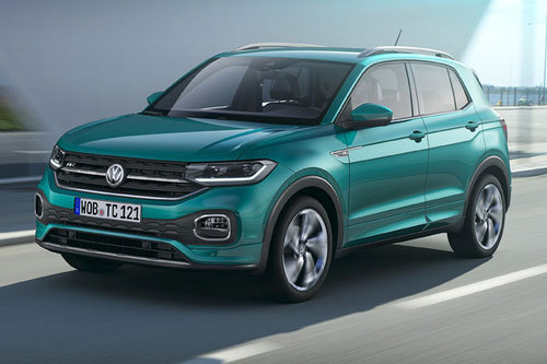 Weltpremiere: kleines VW-SUV T-Cross VW T-Cross 2018
