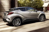 Toyota C-HR Test 2016