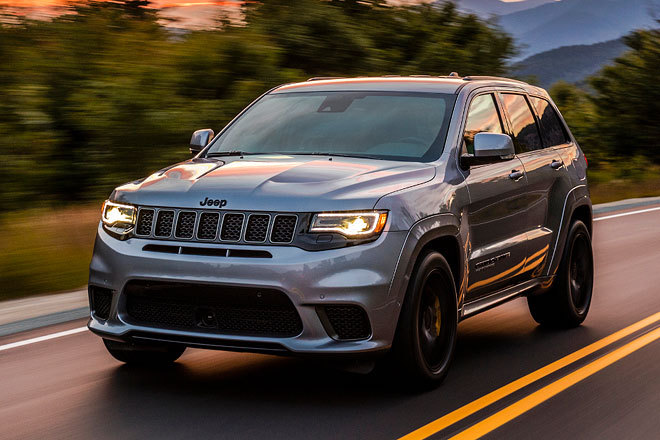 OFFROAD | Jeep Grand Cherokee Trackhawk - erster Test | 2017 Jeep Grand Cherokee Trackhawk 2017
