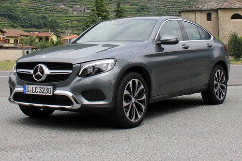 Mercedes Glc Coupe Erster Test Schon Gefahren