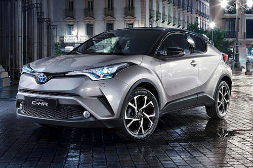 Toyota C-HR - erster Test Toyota C-HR Test 2016