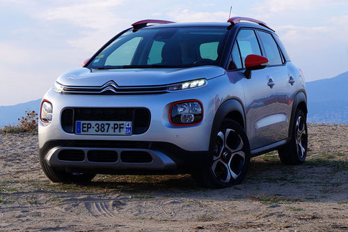 citroen c3 aircross erster test schon gefahren offroad. Black Bedroom Furniture Sets. Home Design Ideas