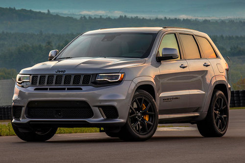 Jeep Grand Cherokee Trackhawk - erster Test Jeep Grand Cherokee Trackhawk 2017