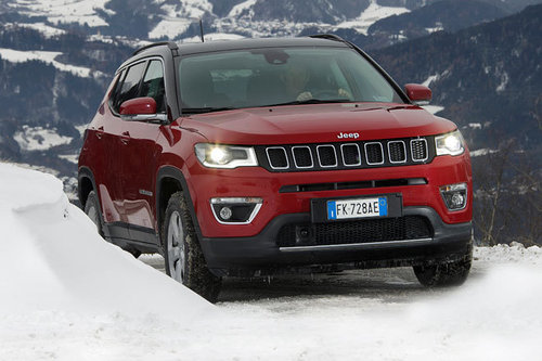 Neuer Jeep Compass - im Wintertest Jeep Compass 2017