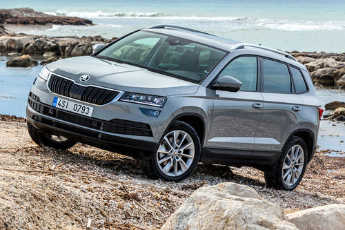 skoda karoq erster test schon gefahren offroad. Black Bedroom Furniture Sets. Home Design Ideas