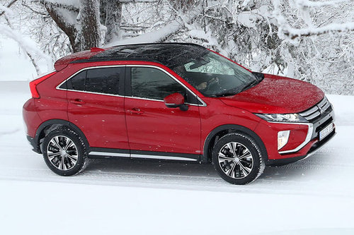 Mitsubishi Eclipse Cross - im Wintertest Mitsubishi Eclipse Cross 2018