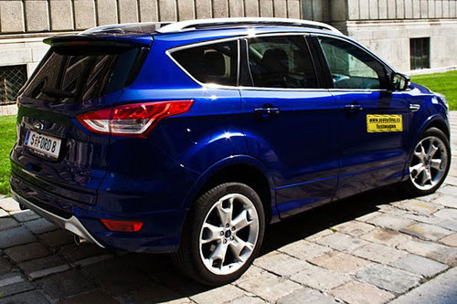 ford kuga 2 0 tdci 4x4 aut im test offroader tests. Black Bedroom Furniture Sets. Home Design Ideas