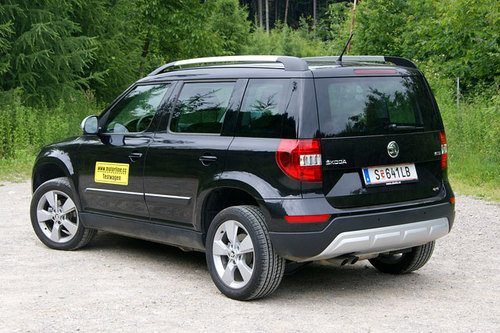 skoda yeti 2 0 tdi outdoor im test offroader tests. Black Bedroom Furniture Sets. Home Design Ideas