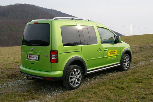 vw cross caddy 2 0 tdi 4motion dsg im test offroader. Black Bedroom Furniture Sets. Home Design Ideas