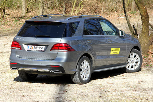 mercedes gle 350 d 4matic aut im test offroader tests offroad. Black Bedroom Furniture Sets. Home Design Ideas