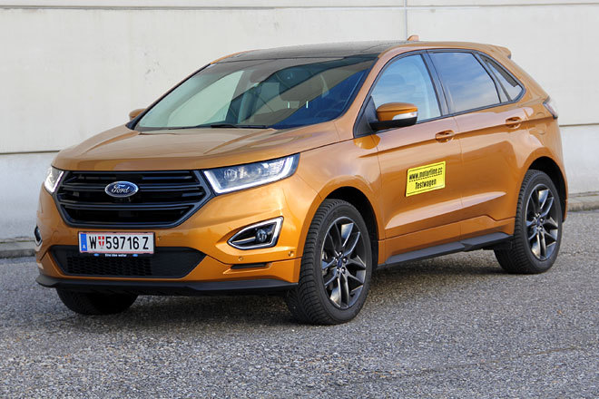 OFFROAD | Ford Edge 2.0 TDCi 210 AWD Sport - im Test | 2016 Ford Edge TDCi 2017