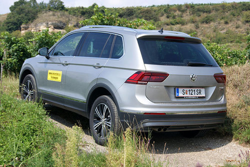vw tiguan 2 0 tdi 4motion dsg highline im test offroader tests offroad. Black Bedroom Furniture Sets. Home Design Ideas