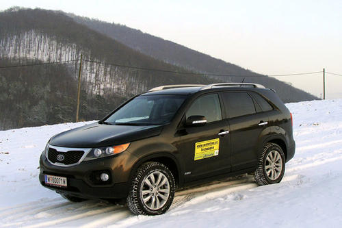 kia sorento 2 2 crdi 4wd im test offroader tests. Black Bedroom Furniture Sets. Home Design Ideas