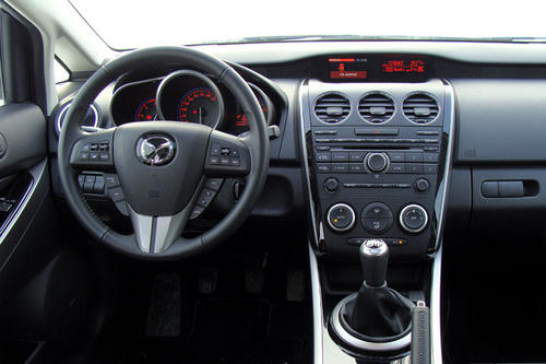 mazda cx 7 cd173 revolution top im test offroader. Black Bedroom Furniture Sets. Home Design Ideas