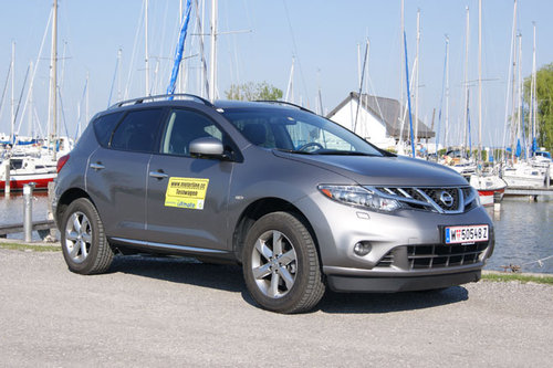nissan murano 2,5 dci - im test - offroader-tests - offroad
