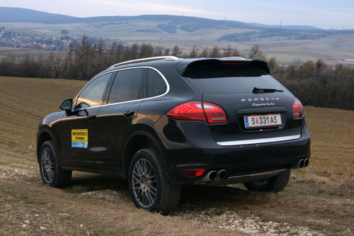 porsche cayenne turbo im test offroader tests. Black Bedroom Furniture Sets. Home Design Ideas
