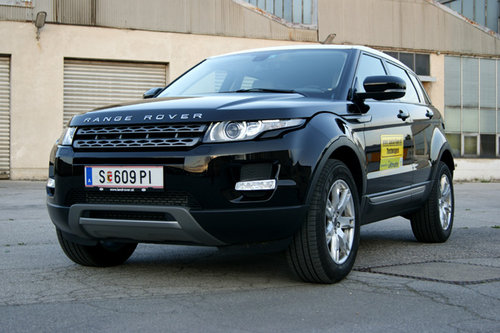 range rover evoque 2 2 ed4 2wd im test offroader tests. Black Bedroom Furniture Sets. Home Design Ideas