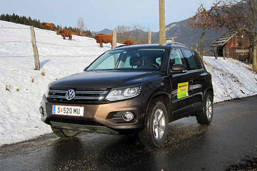 vw tiguan 2 0 tdi dsg track style im test offroader tests offroad. Black Bedroom Furniture Sets. Home Design Ideas