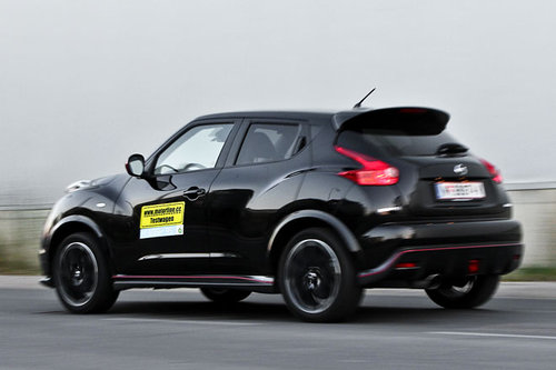 nissan juke nismo 1 6 2wd im test offroader tests. Black Bedroom Furniture Sets. Home Design Ideas