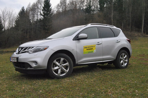 nissan murano 2,5 d executive – im test - offroader-tests - offroad