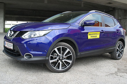 nissan qashqai 1 2 dig t tekna im test offroader tests offroad. Black Bedroom Furniture Sets. Home Design Ideas