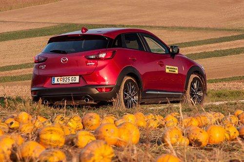 Mazda Cx 3 G150 Awd Revolution Top Im Test Offroader Tests
