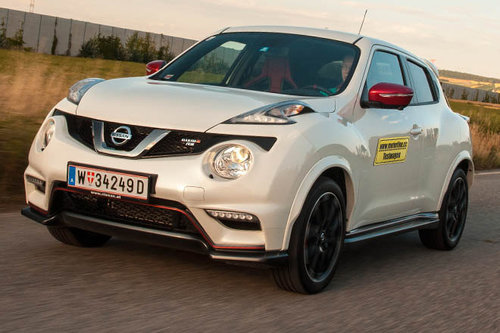 Nissan Juke Nismo RS 1.6 DIG-T ALL-MODE 4x4i - im Test
