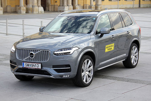 Volvo Xc90 D5 Awd Geartronic Inscription Im Test Offroader Tests