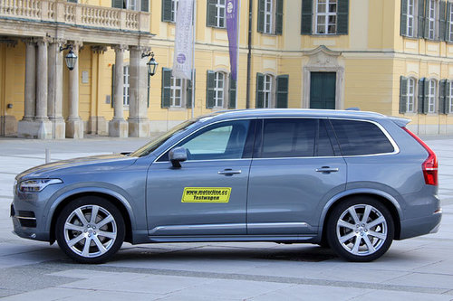 volvo xc90 d5 awd geartronic inscription im test offroader tests offroad. Black Bedroom Furniture Sets. Home Design Ideas