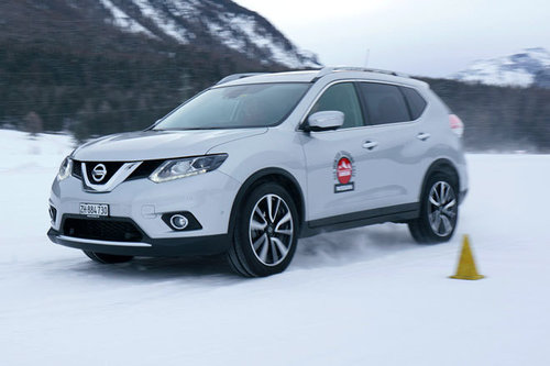 Nissan X-Trail 4x4 - im Winter-Test Nissan X-Trail 2016