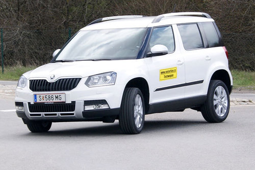 skoda yeti outdoor 4x4 tdi style dauertest start offroader tests offroad. Black Bedroom Furniture Sets. Home Design Ideas