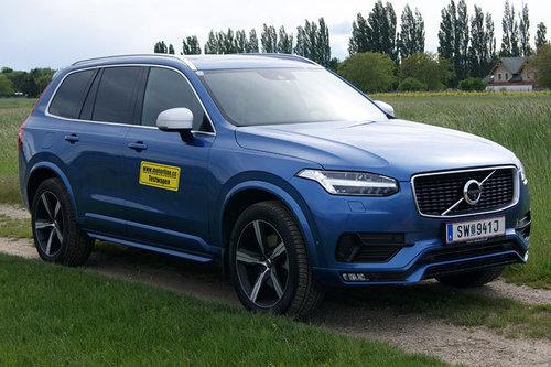 Volvo Xc90 D5 Awd R Design Im Test Offroader Tests Offroad