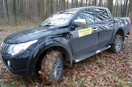 mitsubishi l200 2.4 di-d instyle - im test - offroader-tests