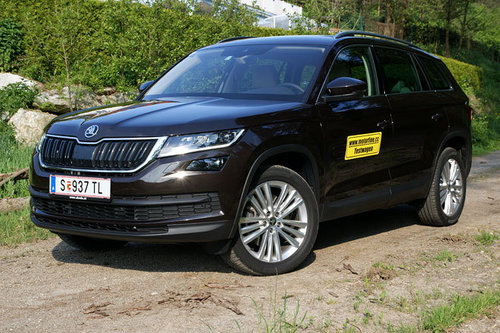 skoda kodiaq 2 0 tdi 4x4 dsg style im test offroader tests offroad. Black Bedroom Furniture Sets. Home Design Ideas