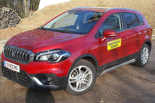 Suzuki SX4 S-Cross 1.4 Allgrip flash - im Test Suzuki SX4 S-Cross 2017