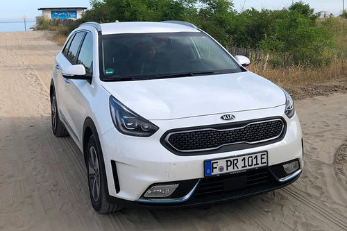 kia niro 1 6 gdi plug in hybrid im test offroader tests offroad. Black Bedroom Furniture Sets. Home Design Ideas
