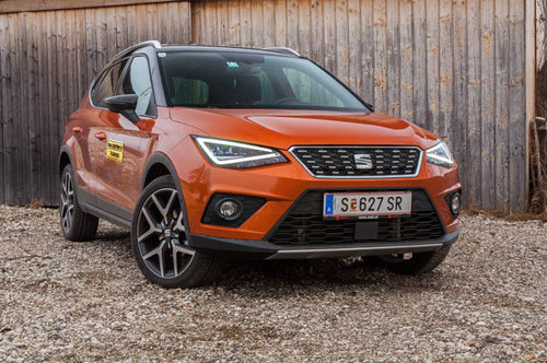 seat arona 1 0 ecotsi 115 xcellence im test offroader tests offroad. Black Bedroom Furniture Sets. Home Design Ideas